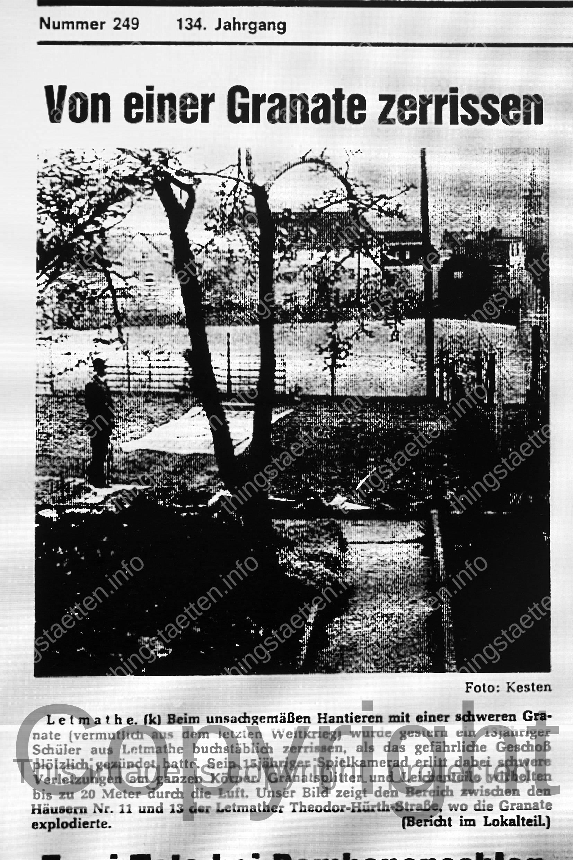 Aus der Fotografie Installation von Thomas Wrede im Rahmen des interdisziplinären Kunst und Wissenschafts Projekts Thingstätten Erinnerungskultur Nationalsozialismus